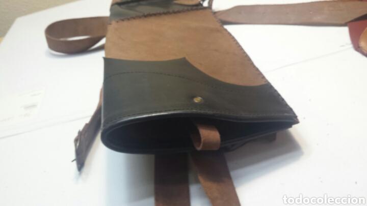 Artesanía: Carcaj de espalda en piel Artesano - Foto 3 - 81594231