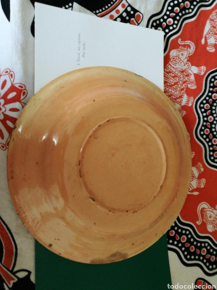 Artesanía: Impresionante plato murciano de principios del siglo XX de 32 cm de diámetro - Foto 2 - 83570104