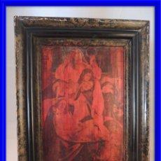 Artesanía: CUADRO ANTIGUO EN COBRE S.XIX. Lote 84570872