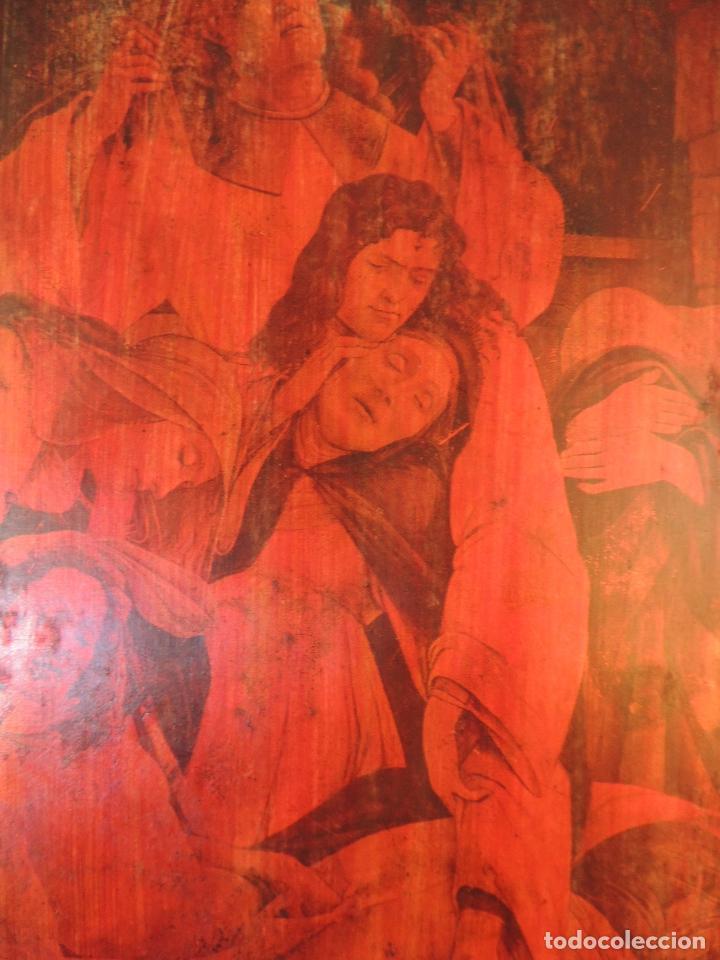 Artesanía: CUADRO ANTIGUO EN COBRE S.XIX - Foto 3 - 84570872
