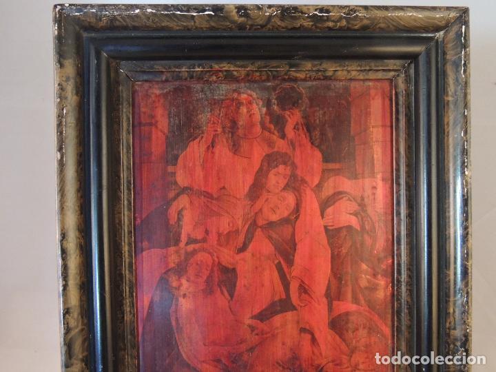 Artesanía: CUADRO ANTIGUO EN COBRE S.XIX - Foto 4 - 84570872