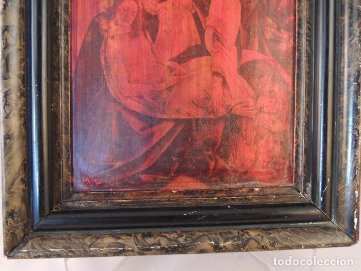 Artesanía: CUADRO ANTIGUO EN COBRE S.XIX - Foto 5 - 84570872