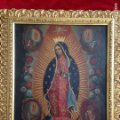 Artesanía: Virgen de Guadalupe, óleo sobre cobre. Lote 84586780