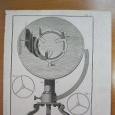 Artesanía: MAQUINARIA DE RELOJ II, 1780. DIDEROT /D ALEMBERT/PANCKOUCKE. Lote 84601328