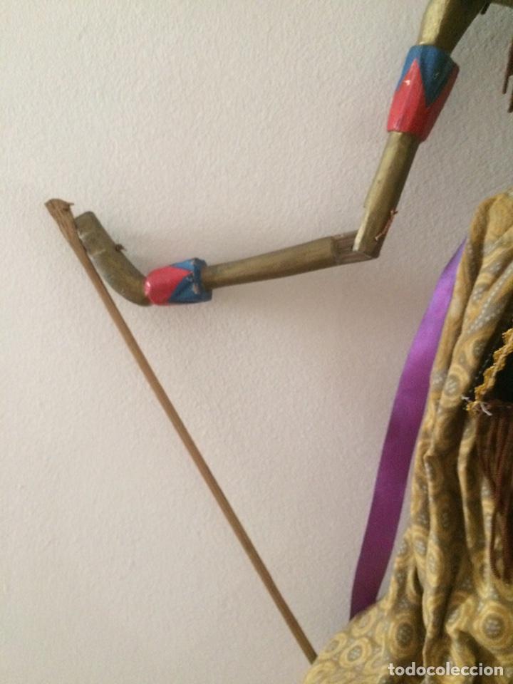 Artesanía: Marioneta Tailandesa 75x15cm - Foto 3 - 96315047