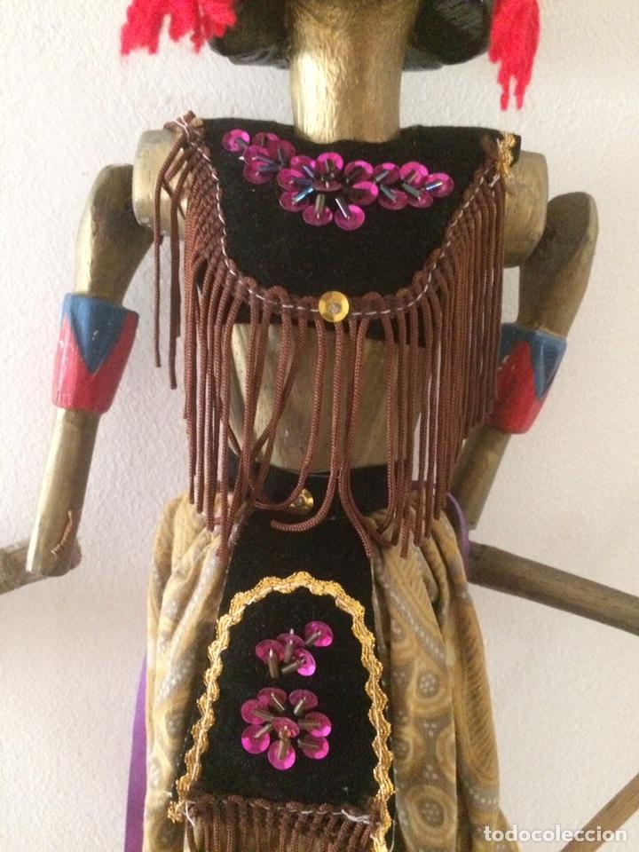 Artesanía: Marioneta Tailandesa 75x15cm - Foto 4 - 96315047