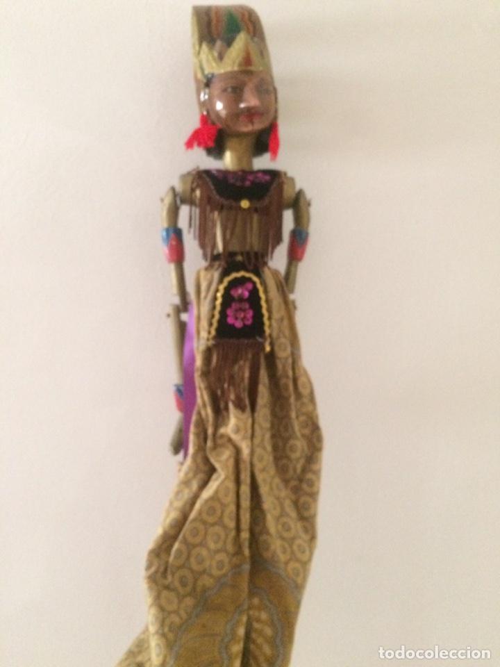 Artesanía: Marioneta Tailandesa 75x15cm - Foto 8 - 96315047