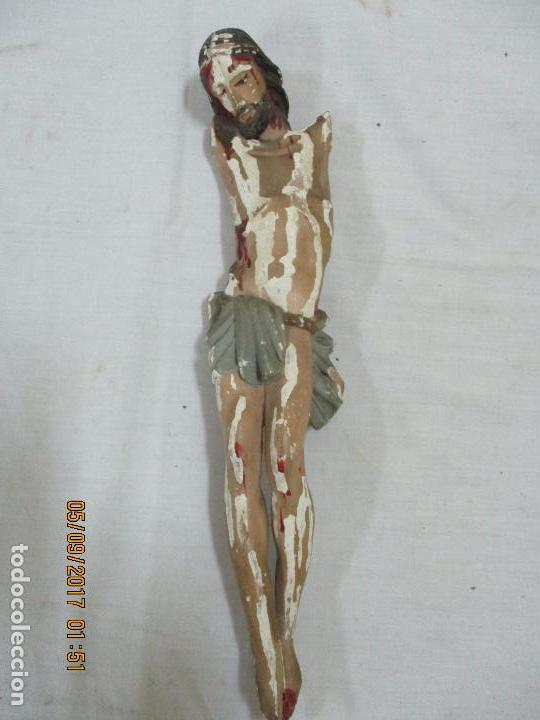 TALLA DE CRISTO. SIGLO XIX (Artesanía - otros articulos hechos a mano)