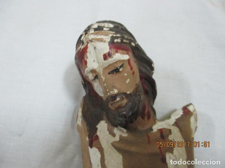 Artesanía: TALLA DE CRISTO. SIGLO XIX - Foto 4 - 97119747