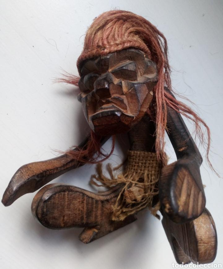 Artesanía: TALLA ÉTNICA DE MADERA. ÁFRICA. TRIBAL - Foto 5 - 100532412