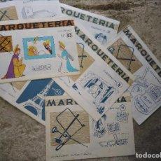 Artesanía: CUADERNOS MARQUETERÍA SALVATELLA. Lote 105805603