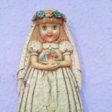 Artesanía: CERAMICA CONVENTO JESÚS MARIA. RDO. DE MI PRIMERA COMUNIÓN. Lote 105887483