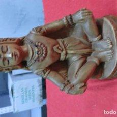 Artesanía: FIGURA ASIATICA HECHA EN PASTA. Lote 108980303