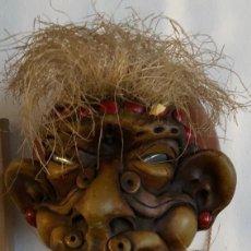 Artesanía: BRASIL-CABEZA EN COCO(. Lote 111265319