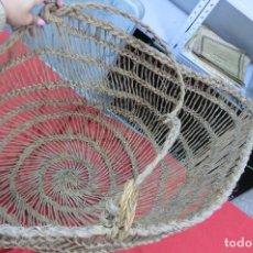 Artesanía: CESTA DE MIMBRE. Lote 112006815