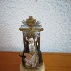 Artisanat: FIGURA ANTIGUA VIRGEN DE LAS ANGUSTIAS DE GRANADA. Lote 119445520