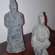 Artesanía: FIGURAS EN MINIATURA GUERREROS DE XIAN. Lote 114645151