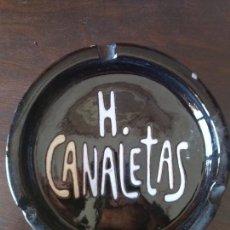 Artesanía: BJS. CENICERO. HOTAL CANALETAS. IGUALADA. COMPLETA TU COLECCION. Lote 115191931