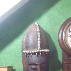 Artesanía: MASCARA AFRICANA VINTAGE. Lote 124416298