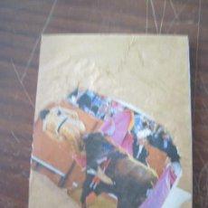 Artesanía: BLOQUE DE NOTAS HECHO A MANO Y DECORADO CON COLLAGE. Lote 127011647