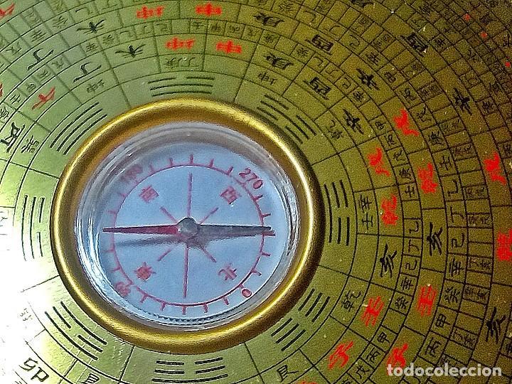 Artesanía: HOROSCOPO EN PLATA TIBETANA CON BRUJULA DE METAL. - Foto 3 - 208006267