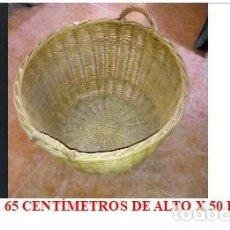 Artesanía: CESTON MIMBRE . Lote 132418130