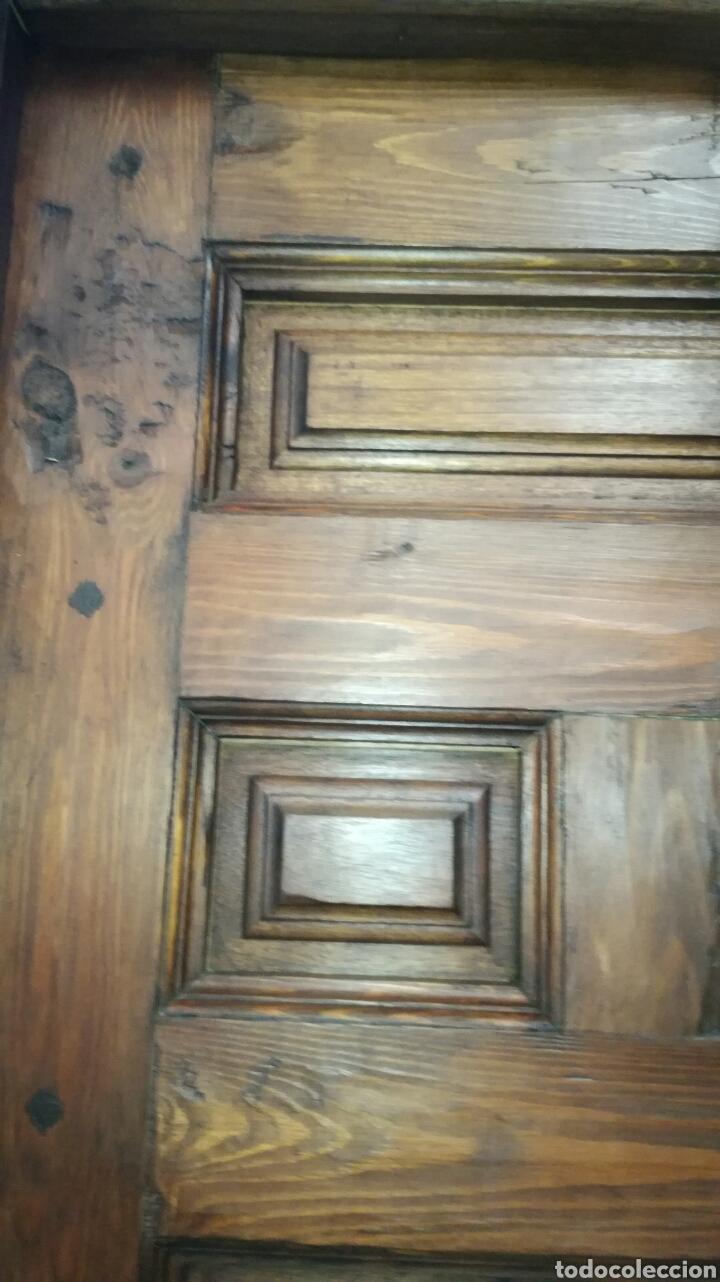 Artesanía: Puerta de cuarterones toledana vieja no antigua J y C - Foto 2 - 134773397