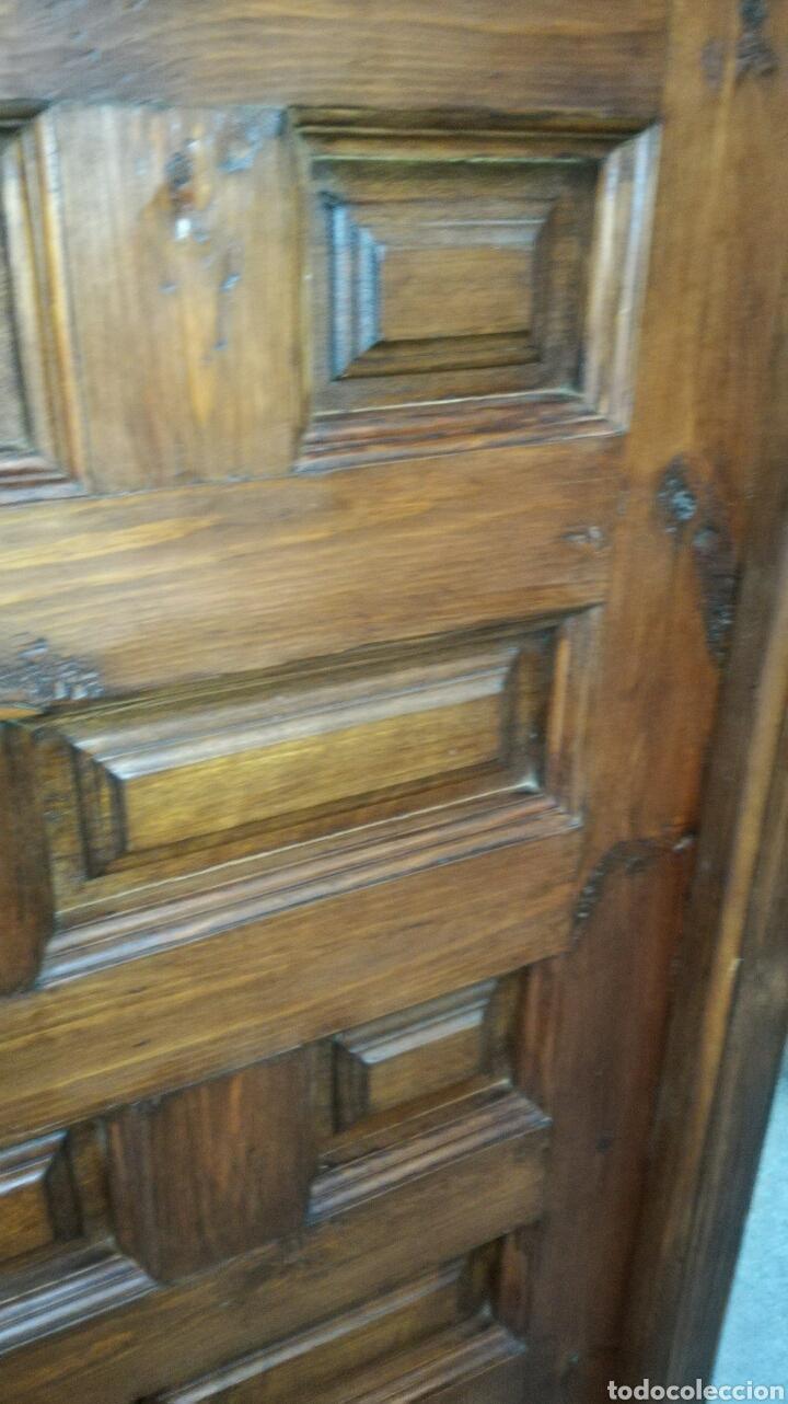 Artesanía: Puerta de cuarterones toledana vieja no antigua J y C - Foto 3 - 134773397