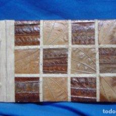 Artesanía: ÁLBUM PARA FOTOS CACIQUE 500 HECHO A MANO CON ELEMENTOS NATURALES . Lote 140183226
