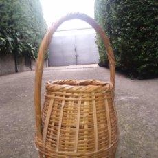 Artesanía - Cesto mimbre ovalado - 140454556
