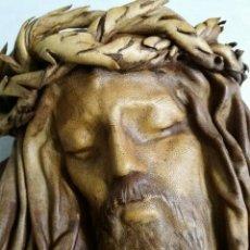 Artesanía: IMAGEN CRISTO PIEL REPUJADA. Lote 147911114