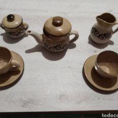 Artesanía: JUEGO DE TÉ ARTESANO. Lote 147919688
