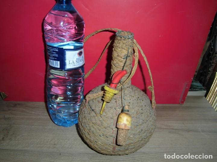 Artesanía: cantimplora de calabaza forrada de esparto - Foto 4 - 150681666