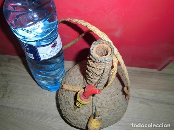 Artesanía: cantimplora de calabaza forrada de esparto - Foto 5 - 150681666