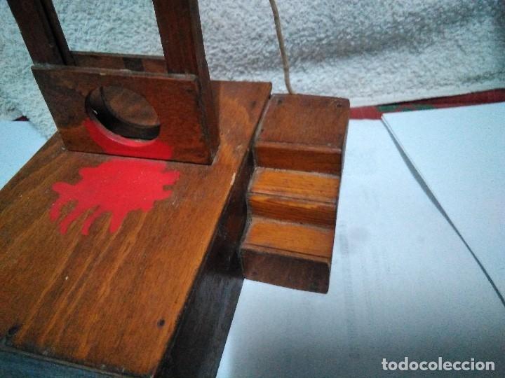 Artesanía: ANTIGUA GUILLOTINA EN MINIATURA - Foto 9 - 152829046