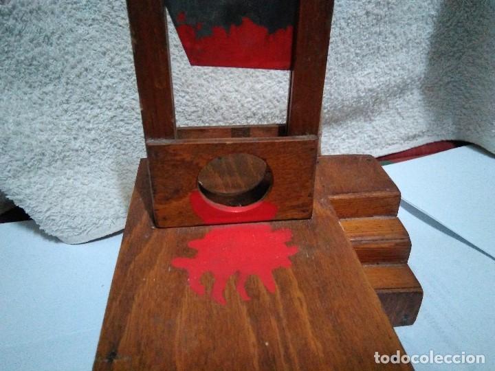Artesanía: ANTIGUA GUILLOTINA EN MINIATURA - Foto 11 - 152829046