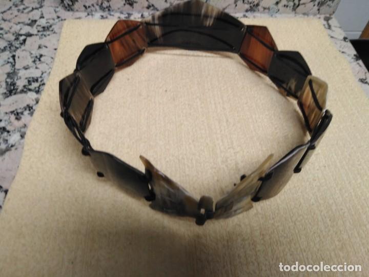 Artesanía: Cinturón cuerno de Toro - Foto 3 - 156770794