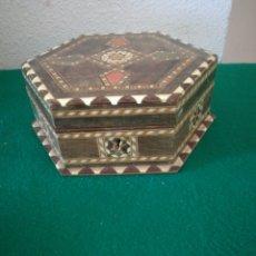 Artesanía: CAJA ARTESANIA TARACEA. Lote 156811160