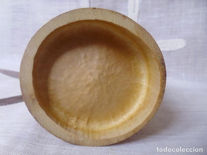 Artesanía: BAMBU- recipiente para colgar - Foto 4 - 158938826