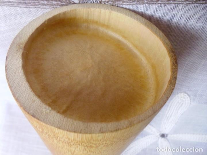 Artesanía: BAMBU- recipiente para colgar - Foto 5 - 158938826