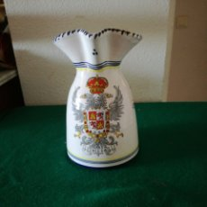 Artesanía: BONITA JARRA CON EL ESCUDO DE TOLEDO. Lote 162542514