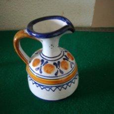 Artesanía: PEQUEÑA JARRA DE TALAVERA. Lote 162562785