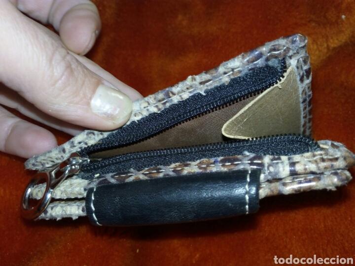 Artesanía: Monedero de cuero artesano - Foto 4 - 165269896