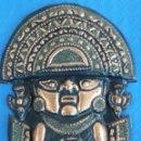 Artesanía: TUMI PRE-INCA DIOS SICAN CULTURA CHIMU PERU EN COBRE. Lote 165343896