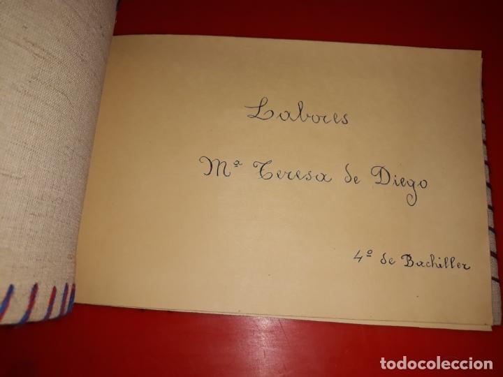 Artesanía: LABORES DE BACHILLERATO Años 60 3 Album en buen estado - Foto 8 - 165679150