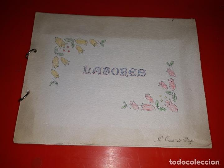 Artesanía: LABORES DE BACHILLERATO Años 60 3 Album en buen estado - Foto 14 - 165679150