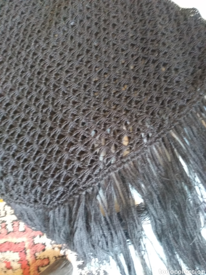 Artesanía: Charpe negro - Foto 2 - 166875230