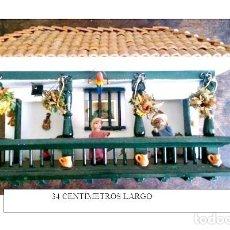 Artesanía: CASITA DE MADERA COLOMBIANA EN MINIATURA.. Lote 168496844