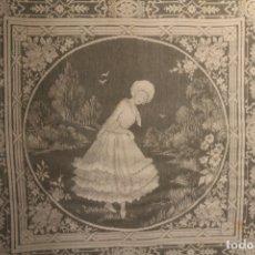 Artesanía: BORDADO A MÁQUINA AÑOS 60-70,. Lote 172106935