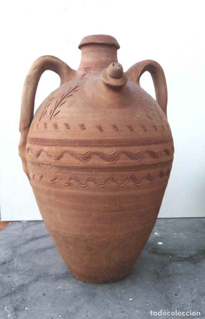 CÁNTARA BOTIJA DE GREGORIO PEÑO (Artesanía - otros articulos hechos a mano)